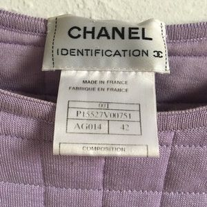 Vintage Chanel Quilted Top
